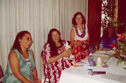 MAHALO NUI LOA for the organization of the Hawaiian Lomi lomi Conference 2002  - ******* See below